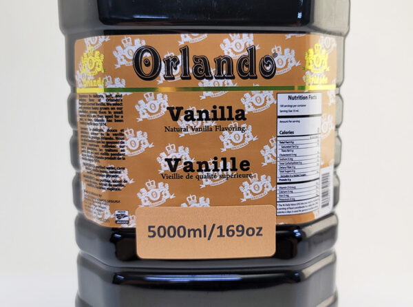 orlando vanilla 5000ml